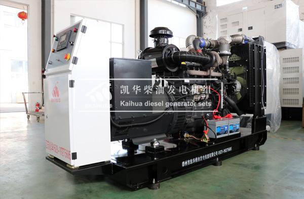 吉林消防200KW上柴发电机组成功出厂