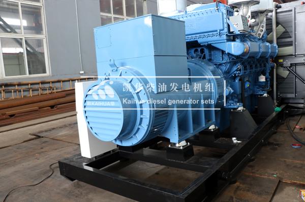 山西一台1500KW玉柴柴油发电机组今日成功出厂 发货现场 第2张