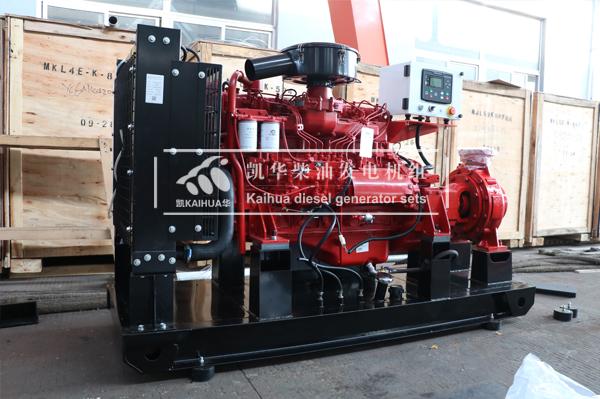 徐州水利订购的一台120KW柴油机水泵机组今日成功出厂 发货现场 第2张