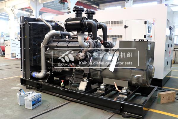 四川安防500KW上柴发电机组成功出厂 发货现场 第1张