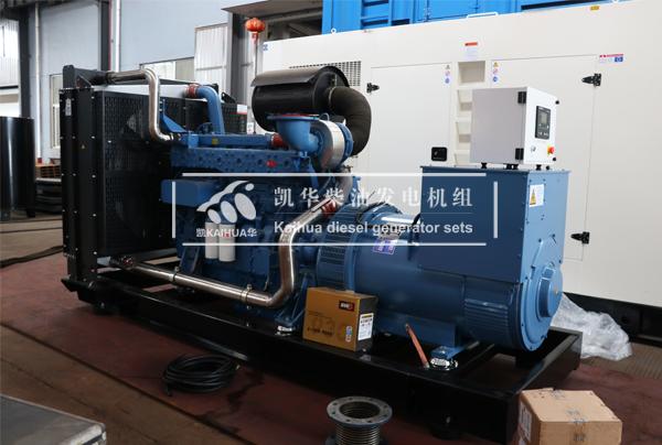 青海500KW玉柴柴油发电机组今日成功出厂