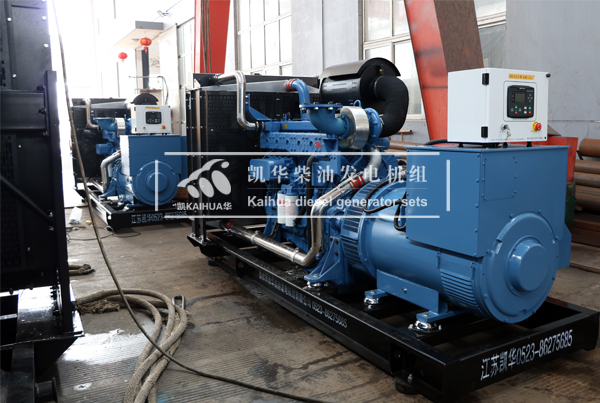 山东两台500千瓦玉柴发电机组今日成功出厂 发货现场 第1张
