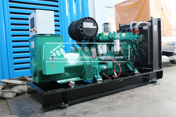 河北酒店200KW潍柴发电机组成功出厂