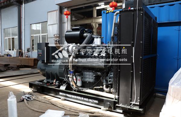 天津港口一台750KW无动柴油发电机组今日成功出厂 发货现场 第2张