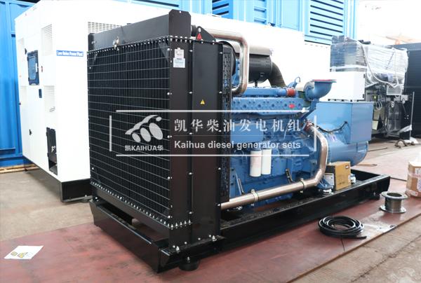 青海500KW玉柴柴油发电机组今日成功出厂 发货现场 第2张