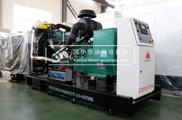 天津数据200KW沃尔沃发电机组成功出厂