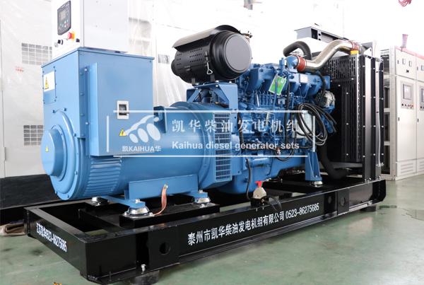 河南环保300KW玉柴发电机组成功出厂