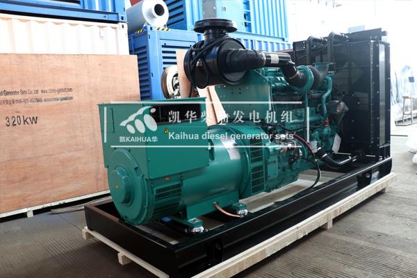 安哥拉一台500KW康明斯发电机组今日成功出厂