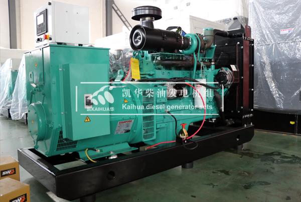 江西法院200KW康明斯发电机组成功出厂