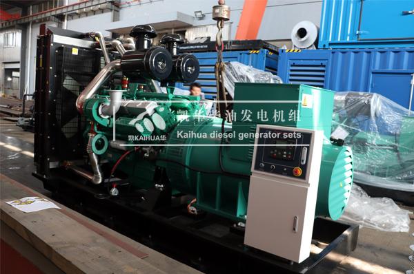 祝贺贵阳地产700KW柴油发电机组成功出厂