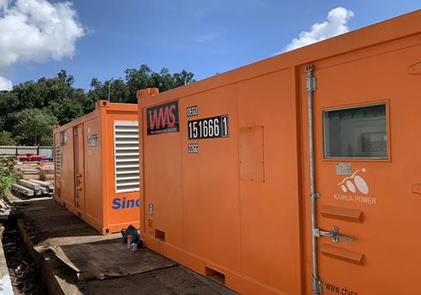 采矿用集装箱式发电机组