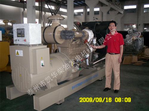 福建人防采购两台250KW自动化康明斯发电机组 公司新闻