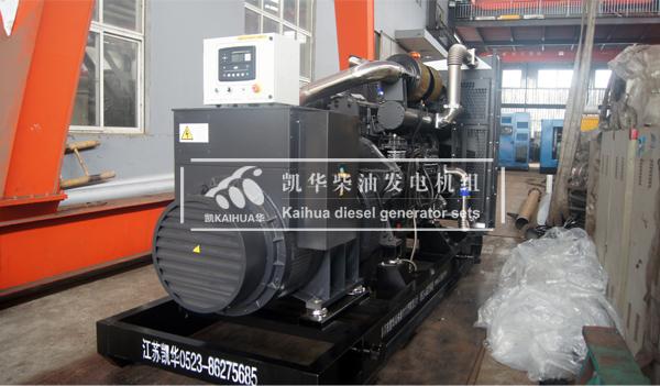 沈阳铁建600KW上柴发电机组成功出厂 发货现场 第2张