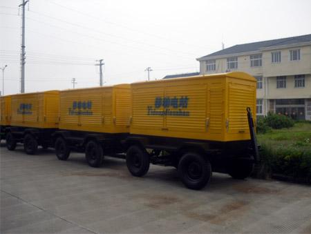 新疆建设工程公司10台移动柴油发电机组整装完毕 公司新闻 第1张