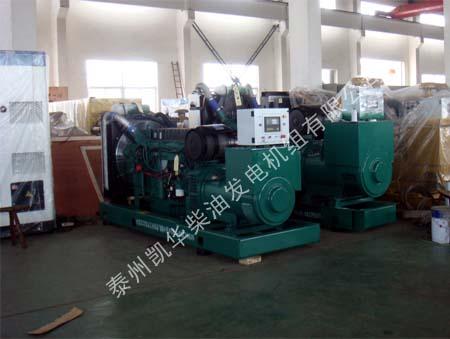 浙江电器有限公司两台沃尔沃机组成功交货 发货现场