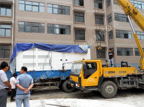合肥房产小区600KW机组完成安装 国内案例 第1张