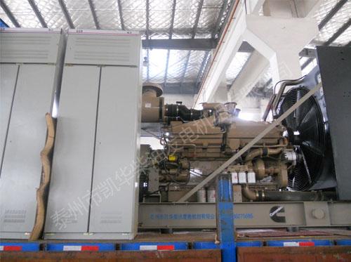 河北电信两台1000KW康明斯机组成功出厂 发货现场 第3张