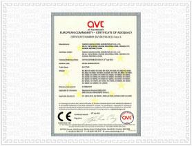 欧盟CE认证 荣誉资质