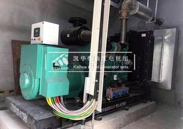 广东金属500KW康明斯发电机组 典型案例