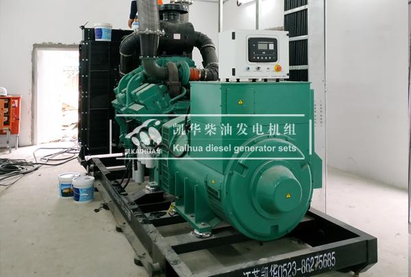 上海建设600KW康明斯发电机组 典型案例