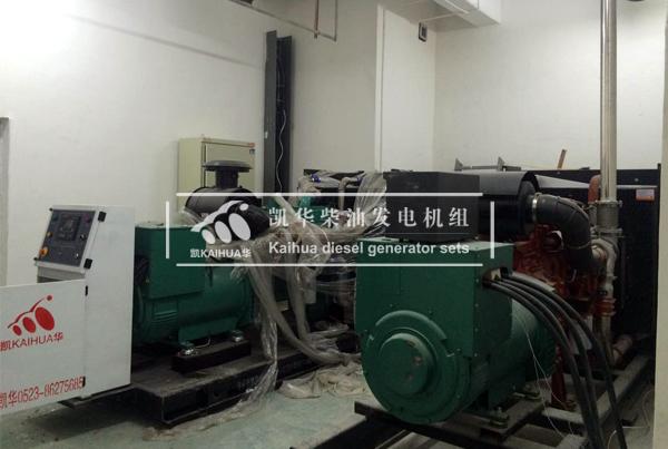 西安工程两台300KW康明斯发电机组 典型案例