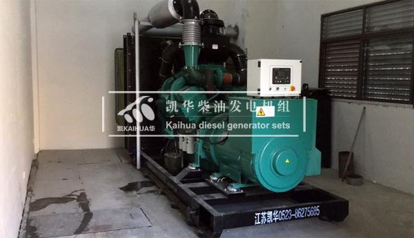 宁波外企600KW康明斯发电机组 典型案例