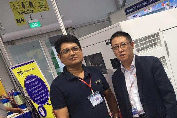 凯华成功参展2019年缅甸博览会 公司新闻 第2张