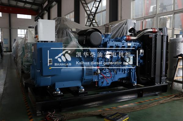祝贺济南房产300KW玉柴发电机组成功出厂