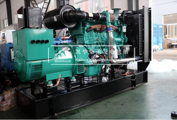 祝贺出口新加坡的300KW康明斯发电机组成功出厂 发货现场 第1张