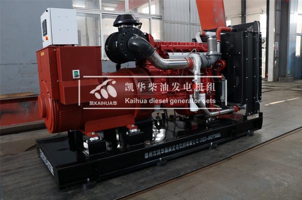 四川烟草400KW玉柴发电机组成功出厂 发货现场 第1张