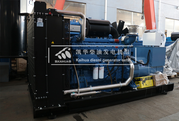 祝贺南昌建设500KW玉柴发电机组成功出厂 发货现场 第2张