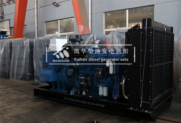 祝贺浙江医院600KW玉柴发电机组成功出厂 发货现场 第2张