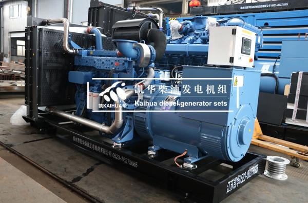 500KW玉柴柴油发电机组配置及技术参数 客户方案