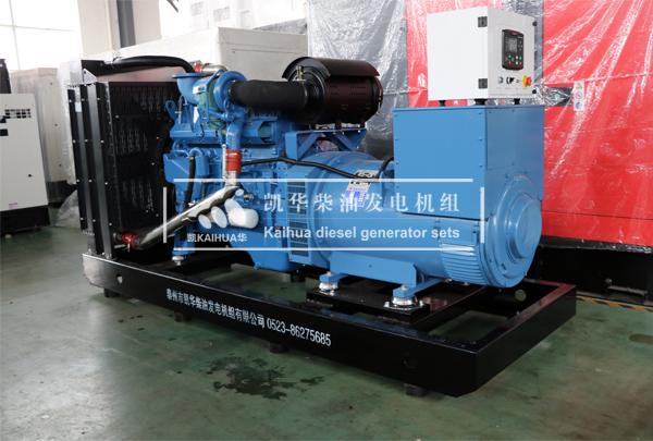 250KW玉柴柴油发电机组配置及技术参数 客户方案
