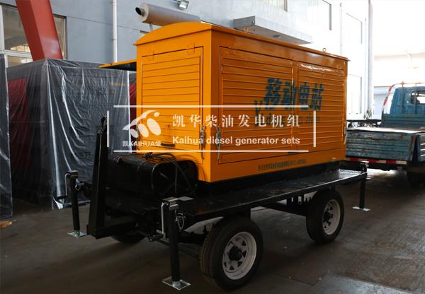 祝贺成都工程100KW移动式发电机组成功出厂