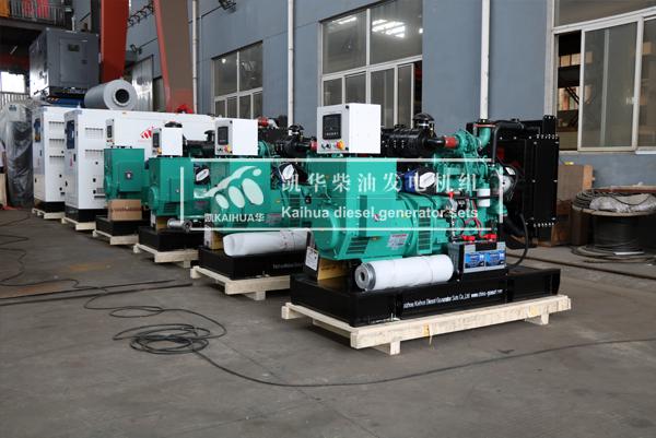 祝贺安哥拉工程项目的6台康明斯发电机组成功出厂