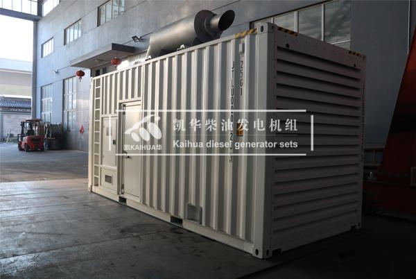 俄罗斯600KW燃气发电机组今日成功出厂 发货现场 第2张