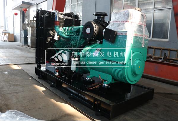 广州医院400KW康明斯发电机组今日成功出厂