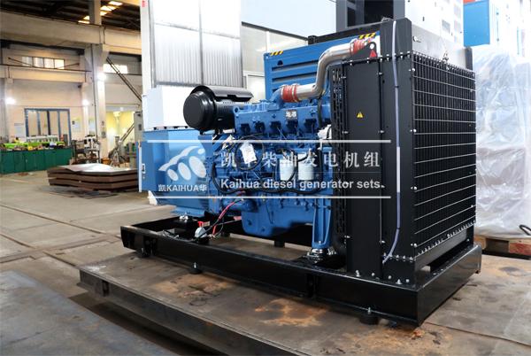山东水泥200KW玉柴柴油发电机组今日成功出厂 发货现场 第2张