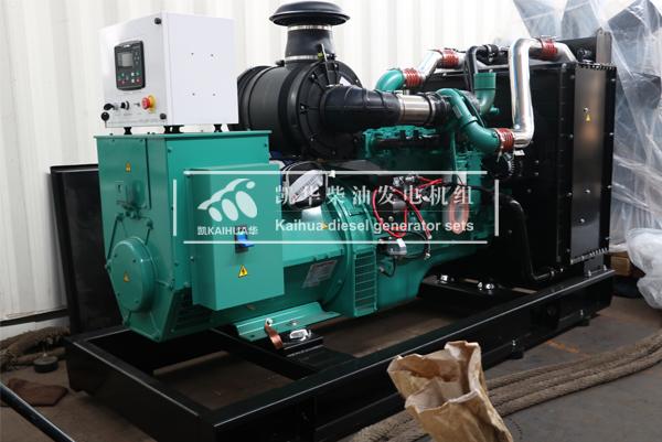 缅甸客户250KW康明斯柴油发电机组今日成功出厂