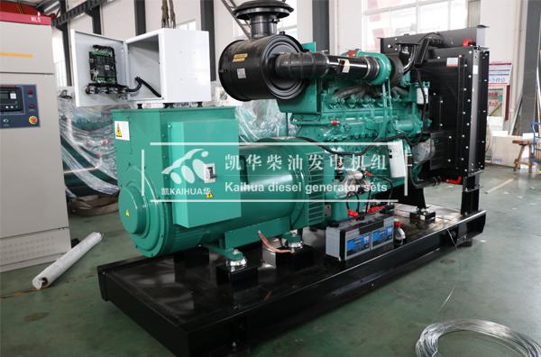上海工程300KW康明斯柴油发电机组今日成功出厂 发货现场 第1张