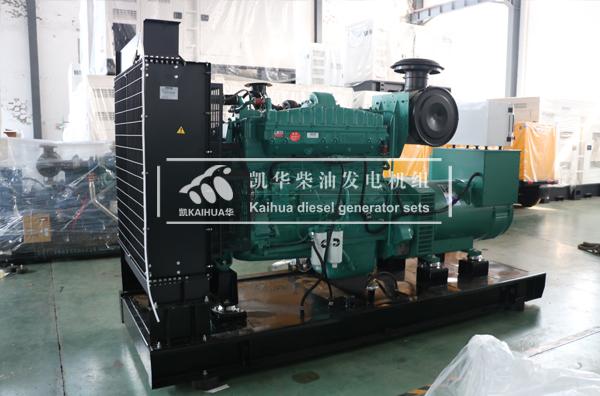 上海工程300KW康明斯柴油发电机组今日成功出厂 发货现场 第2张