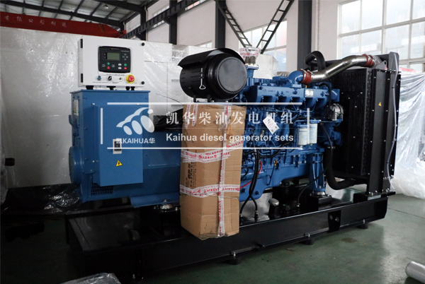 山西医疗200KW玉柴发电机组今日成功出厂