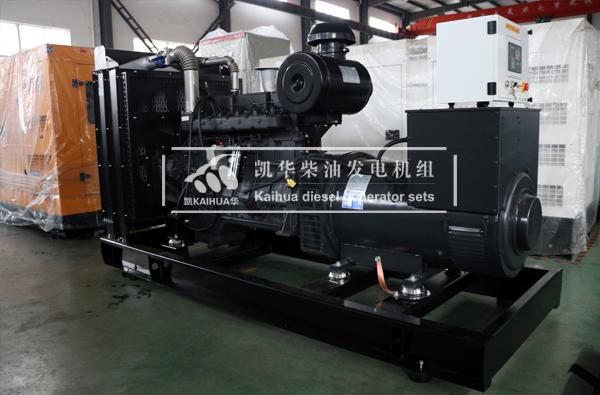 郑州市政350KW上柴柴油发电机组今日成功出厂