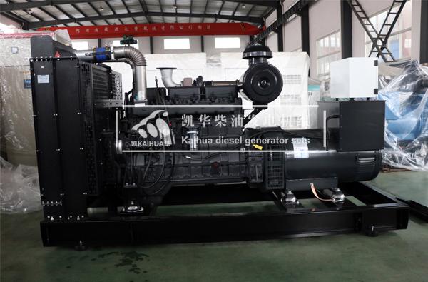 郑州市政350KW上柴柴油发电机组今日成功出厂 发货现场 第2张