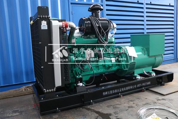 江西工程400KW乾能柴油发电机组今日成功出厂 发货现场 第2张