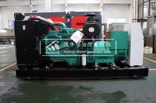 吉林消防250KW康明斯发电机组今日成功出厂 发货现场 第2张