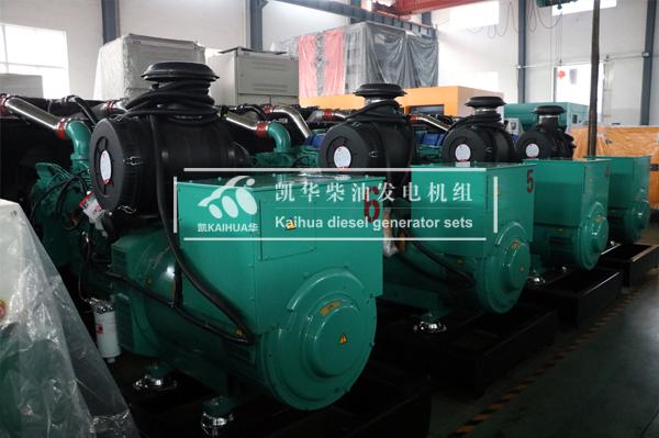 安哥拉客户250KW康明斯柴油发电机组今日成功出厂 发货现场 第2张
