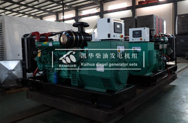 阜阳水利三台150KVA潍坊柴油发电机组今日成功出厂
