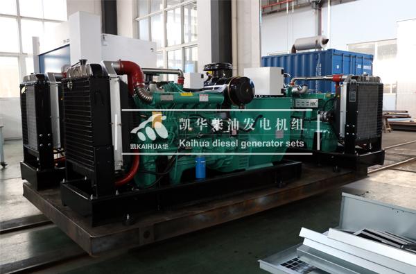 阜阳水利三台150KVA潍坊柴油发电机组今日成功出厂 发货现场 第2张